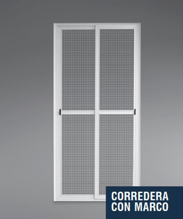 Mosquitera para puerta corredera interesting mosquiteras for Marco puerta corredera